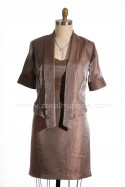 Robe de m�re des mari�s no. 16 collection 2013 - Robe empire et veston � pointes