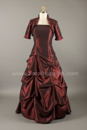 Robe de m�re des mari�s 2015 - Robe ballon � plis multiples no. 2 Zora L Hupp�e