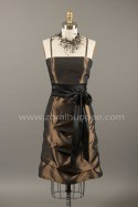 Robe de m�re des mari�s 2015 - Robe Ginger courte � plis multiples no. 33 Zora L Hupp�e