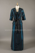 Robe empire et veston