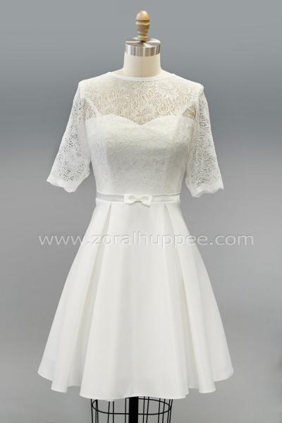 6165c2c8a6c Robe haut Victoria et bas à plis creux  146 robe de mariée 2019