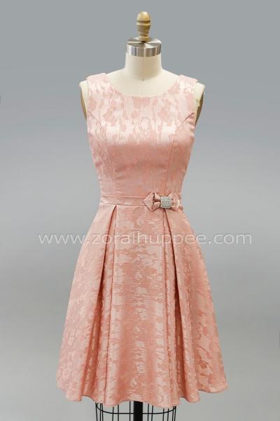 f7ba394b057 Robe courte rétro dos Judith  14 robe modèle unique 2019